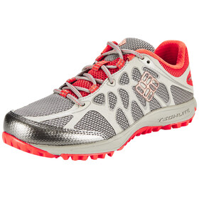Columbia Conspiracy Titanium Shoes Women Light Grey, Coral Glow